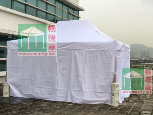 tents-white side wall